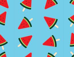 Slice watermelon seamless background.