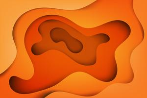Modern abstract covers , colorful wave and fluid shapes orange background