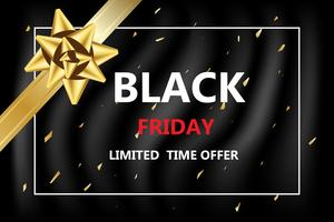 black Friday discounted for shopping online banner