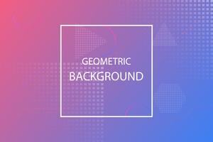 colorful minimal geometric abstract background, pink and violet template