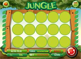 Game template with jungle theme