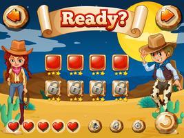 Cowboy jeu