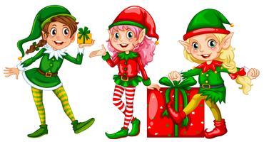 Un ensemble d'elfe