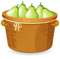 Un cesto di pera