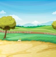 Escena de la granja