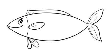 een vis