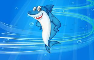 pez tiburon vector