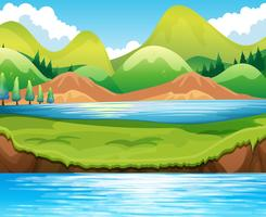 Escena del lago