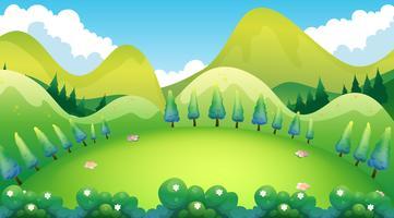 Grön park