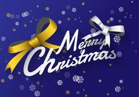 Vektor Lycklig Glad God Jul bakgrund
