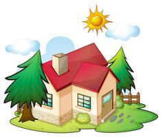 een huis