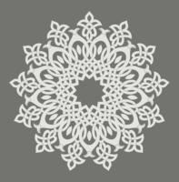 Patrón circular - vector
