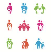 iconos - parental - vector