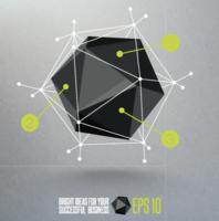 Gráficos 3d geométricos - vetor