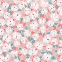 Floral seamless pattern. Flower background. Garden nature ornament