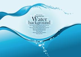 Water graphics background vector