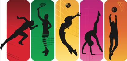 Sport silhuett vektor