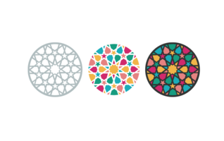 Arabic, Islamic pattern - vector