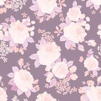Nahtlose Blümchenmuster Blumen Hintergrund Garten Textur