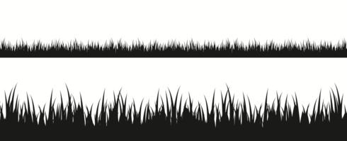 Gräs silhuett vektor