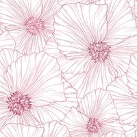 Floral seamless pattern. Flower background. Flourish spring garden
