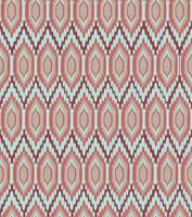 Abstract fabric ornament Geometric line seamless pattern. orient texture vector