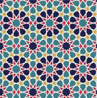 islamic pattern design -   vector