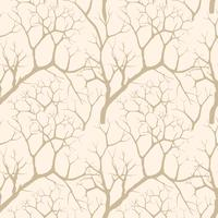 Nature seamless pattern. Winter forest background. Trees wallpaper vector