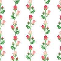 Motivo floreale senza soluzione di continuità. Sfondo di fiori Trama ornamentale