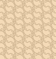 Oriental line pattern Abstract floral ornament Swirl fabric background