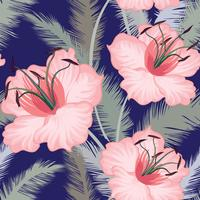 Floral seamless pattern. Flower background. Flourish garden