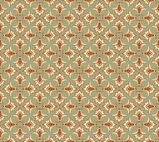 Seamless flower pattern Abstract floral ornament. Oriental fabric texture