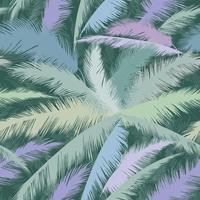 Floral pattern palm tree leaves. Nature spring textured background.