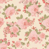 Floral seamless pattern. Flower background. Flourish garden texture