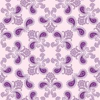 Arabische floral krul lijn sieraad. Oosterse bloem naadloze patroon