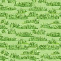 Floral seamless pattern with grass. Meadow tile backdrop