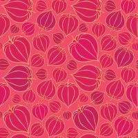 Floral seamless pattern. Fall background. Flourish ornament