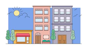 Vector de barrio