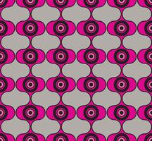 Seamless background circles. Stylish geometric ornament