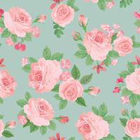 Patrón floral sin fisuras Fondo de la flor. Textura de jardin
