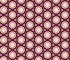 Geometric seamless pattern. Abstract ornament Swirl fabric background