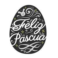 Typographie Feliz Pascua