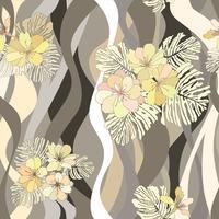 Floral pattern sans soudure. Fond de fleurs. Texture de jardin s'épanouir