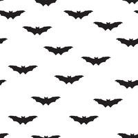 Halloween bat seamless pattern. Holiday Halloween background vector