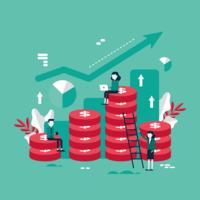 Corporate Goals Vector