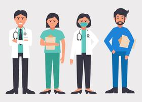 Healthcare Characters Vector