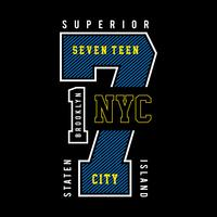 new york city  typography design vector illustration for t-shirt