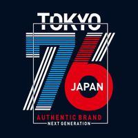 immagine design tokyo giappone per t-shirt