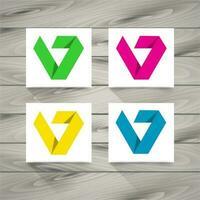 Logo abstracto concepto