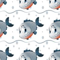 A wallpaper design with big fishes